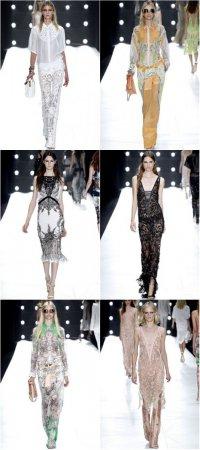 Неделя моды в Милане: коллекция Roberto Cavalli весна-лето 2013
