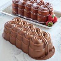 Форма для выпекания пирогов с витиеватым украшением
