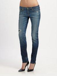 Как выбрать джинсы по фигуре: банан