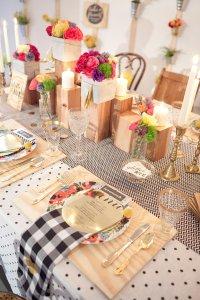 Сервировка свадебного стола: различные пэттерны