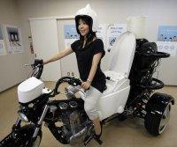 Мотоцикл-туалет
