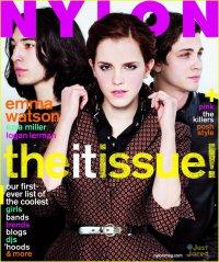 Актеры фильма «Хорошо быть тихоней» на обложке журнала Nylon