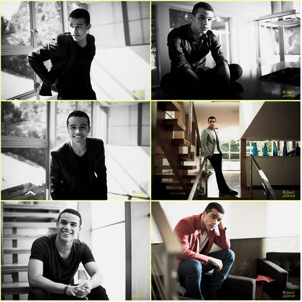 Джейкоб Артист в эксклюзивной фотосессии для JustJaredJr.com