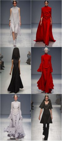 Неделя моды в Париже: коллекция Gareth Pugh весна-лето 2013