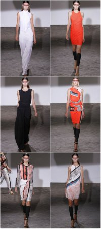 Неделя моды в Париже: коллекция Cedric Charlier весна-лето 2013