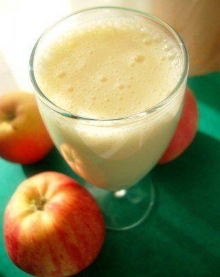 Кефирно-яблочный коктейль