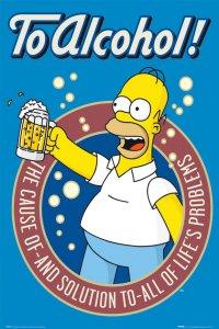 Пятничный тост: За алкоголь!