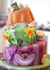 Торт «Алиса в Стране чудес»