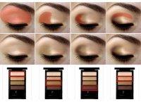 Фотоурок по макияжу глаз с помощью палитры теней на 4 цвета