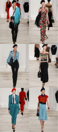 Неделя моды в Париже: коллекция Ralph Lauren весна-лето 2013