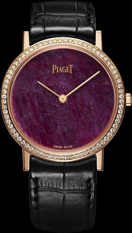 Часы Piaget с рубиновым циозитом