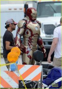 Новый костюм Железного Человека