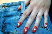 Зайчики Playboy на ваших ногтях
