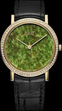 Часы Piaget с зеленым нефритом