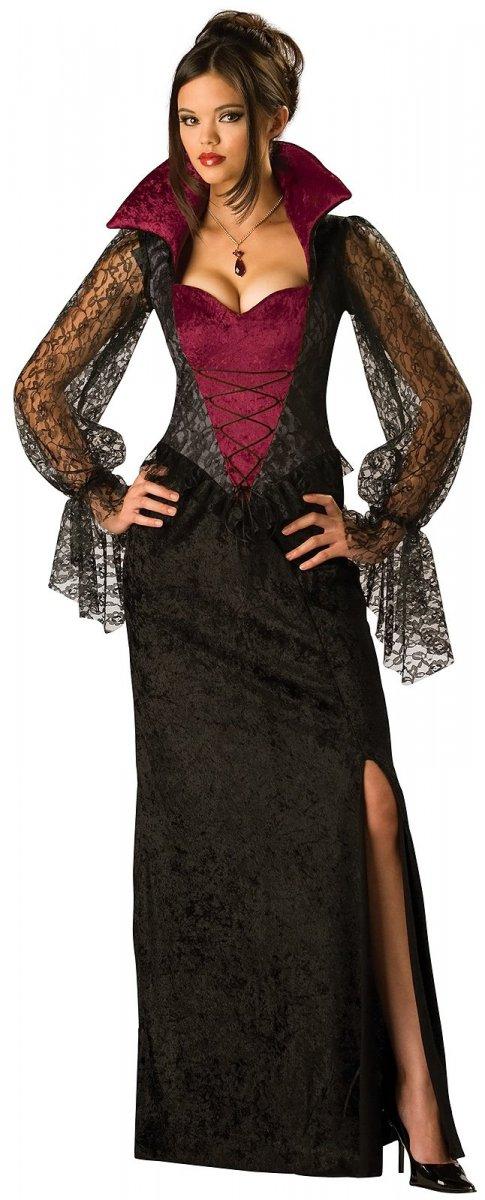 Костюмы на Хэллоуин: принцесса вампиров