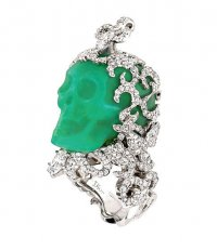 Кольцо с черепом от Christian Dior