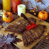 Блюда на Хэллоуин: Ребра Адама