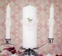 Свадебные свечи для обряда зажжения семейного очага