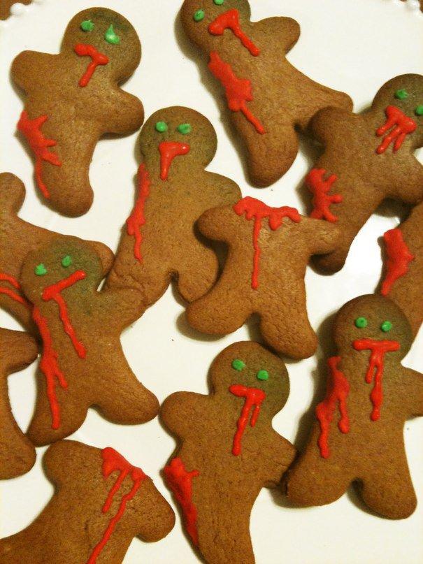 Имбирное печенье зомби