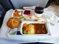 Чем кормят в самолете: Lufthansa Мюнхен-Нью-Йорк