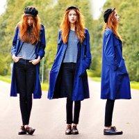 Модные цвета осень-зима 2012-2013: кобальтовый (глубокий синий)