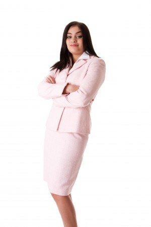 Какой цвет делового костюма выбрать: розовый