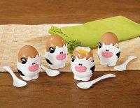 Подставки для яиц в виде коров