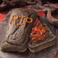 Блюда на Хэллоуин: гробик-чили