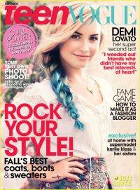 Деми Ловато на обложке Teen Vogue (ноябрь 2012)