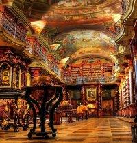 Библиотека Клементинума, Прага, Чехия