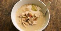 Кокосовый суп с курицей Том Ка Гай