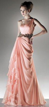 Элегантное шиновое платье