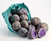 Самые необычные продукты: фиолетовый картофель