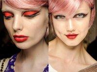 Яркий макияж на Хэллоуин