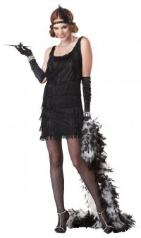 Костюмы на Хэллоуин: девушка в стиле 20-х годов