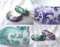 Ручная роспись браслетов