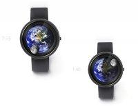 Креативные лунно-космические часы Earth and Moon Watch от Александра Сорокина
