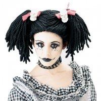 Идея для макияжа на Хэллоуин: злая кукла