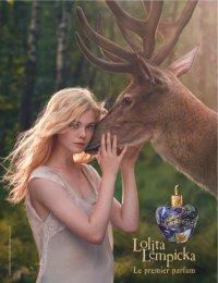 Эль Фаннинг приняла участие в рекламной кампании аромата Le Premier Parfum