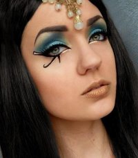 Макияж на Хэллоуин: для образа Клеопатры