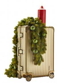 Рождественская коллекция чемоданов Rimowa