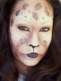 Идеи для макияжа на Хэллоуин: хищный леопард