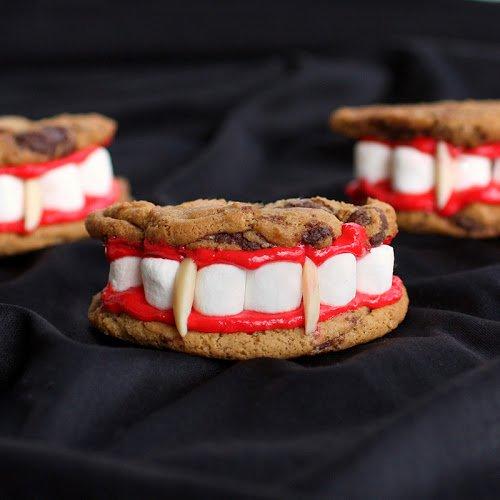 Идея для «страшного» печенья на Хэллоуин