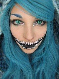 Идеи для макияжа на Хэллоуин: сирена