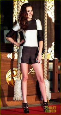 Кристен Стюарт: токийский фотоколл для «Сумерки. Сага. Рассвет: Часть 2»