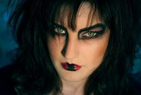 Идеи для макияжа на Хэллоуин: готичная ведьма