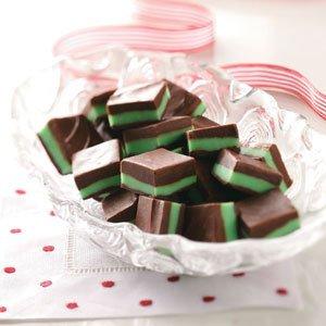 Мятно-шоколадные конфеты