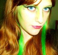 Макияж на Хэллоуин: зеленая фея
