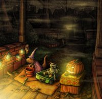 Конкурсы на Хэллоуин: пугающая дорога