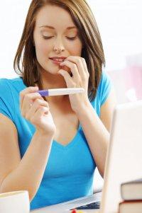Тест на беременность: струйный тест